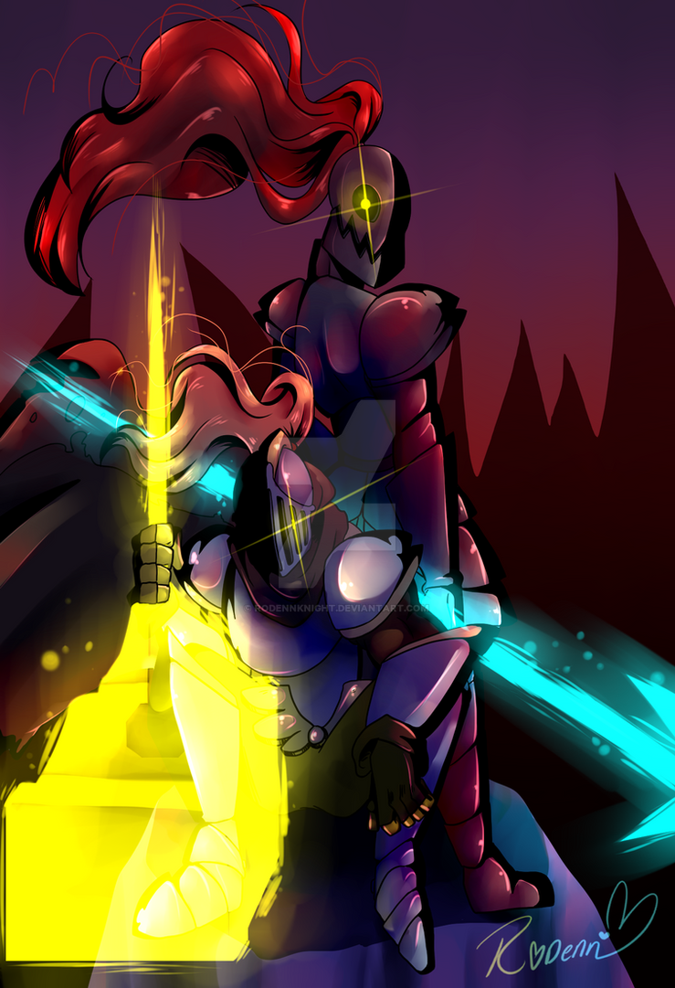 .:Hammer and Spears of JUSTICE:. by RoDennFuck