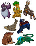 Druid forms