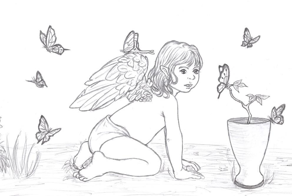 Many Butterflies by Ardwenn