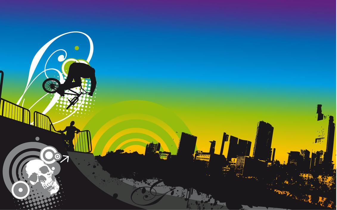 Urban bmx wallpaper