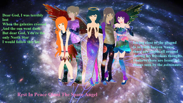 She is Our Space Angel now and forever