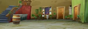 Background de la Vecindad del Chavo
