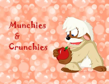 Gurgi wants munchies and cruncies