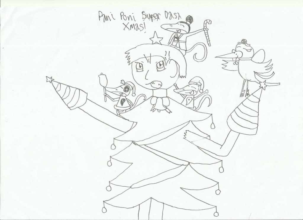 Pani Poni Super Dash Christmas by HTC-Master