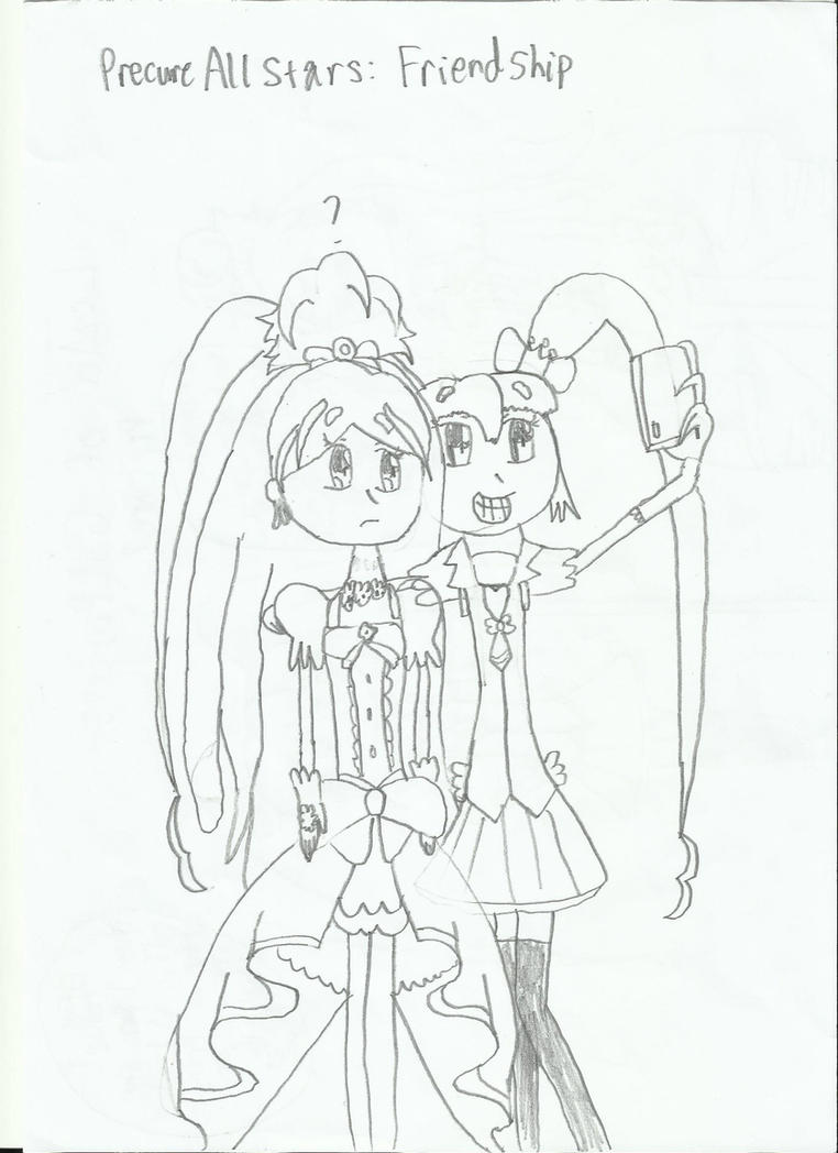 Precure All Stars: Friendships by HTC-Master