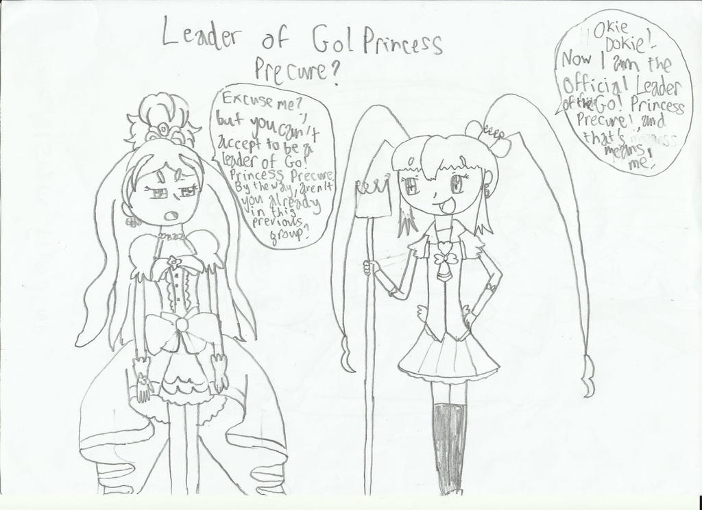 Leader of the Go Princess Precure? by HTC-Master