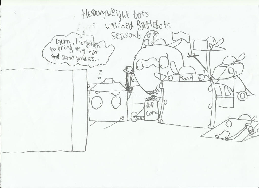 Heavyweight Bots watched Battlebots ABC season 1 by JumbotheElephant232