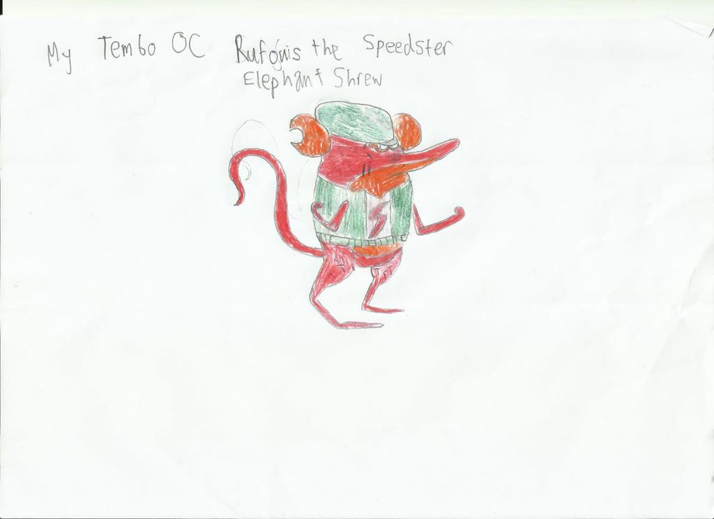 My Tembo OC, Sengi by JumbotheElephant232