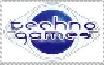 Techno Games Stamp by UPEOPilotJumbo