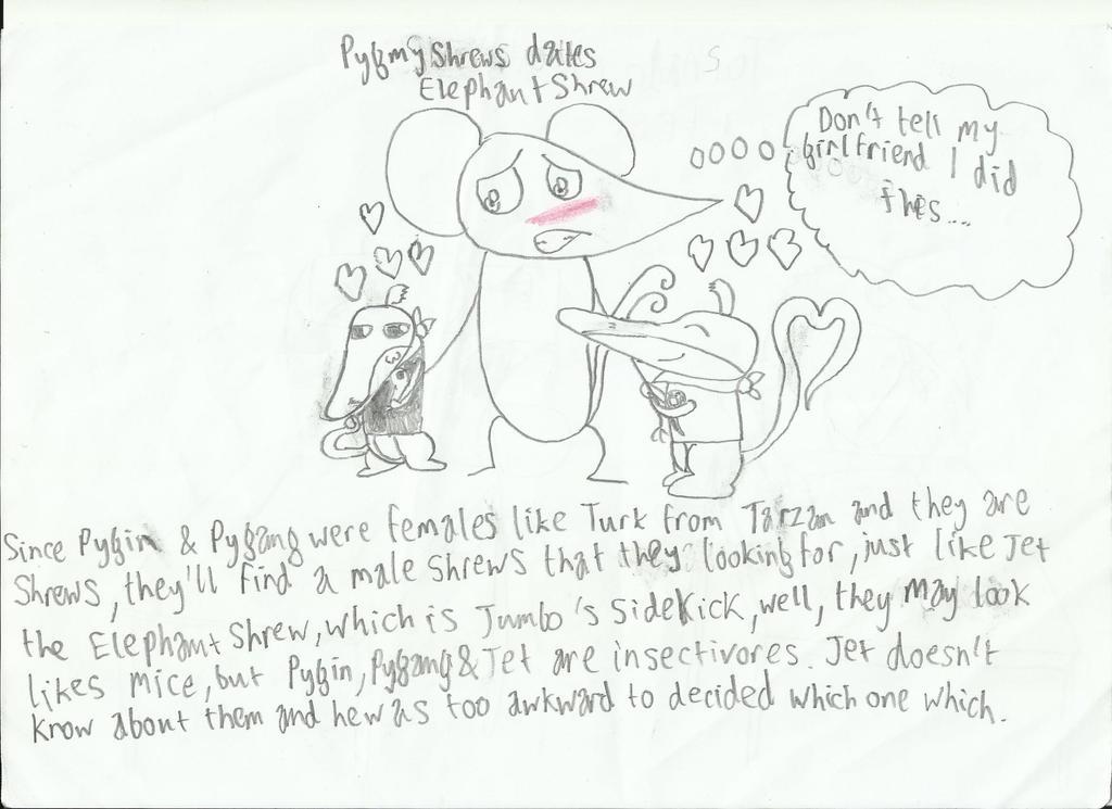 Pygmy Shrews Dates Elephant Shrew by UPEOPilotJumbo on DeviantArt