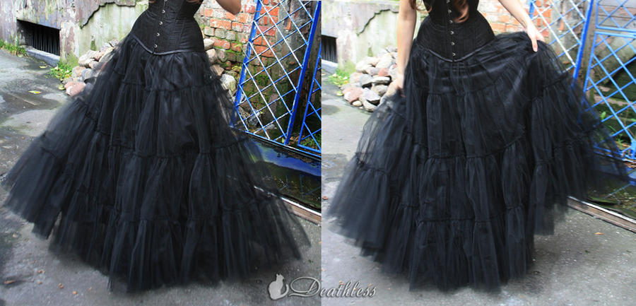 how to make a net petticoat