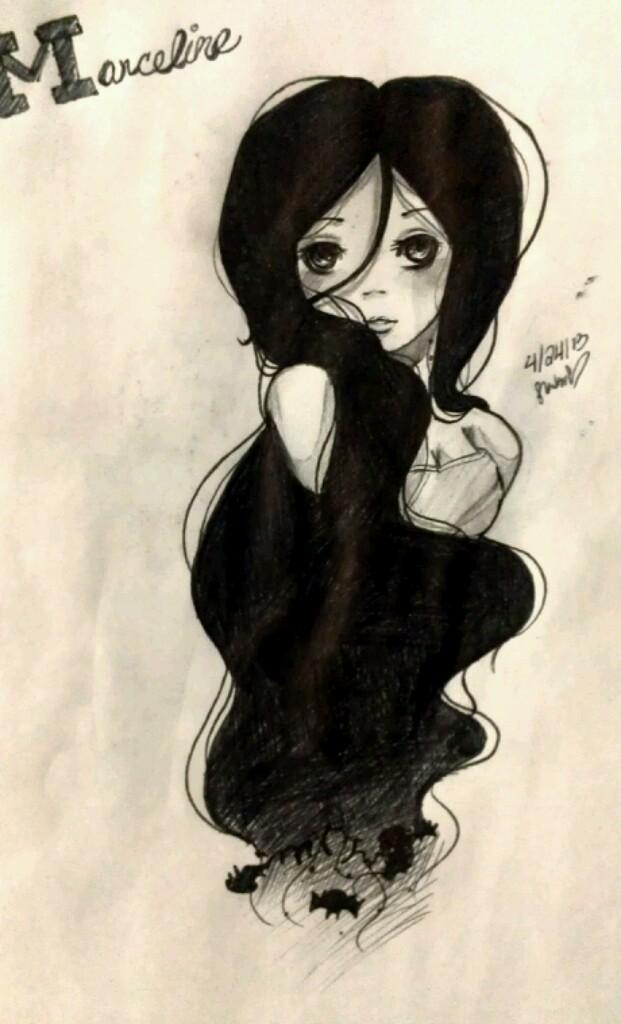 Marceline (Fanart) by Strwberi-Kagami-13xX