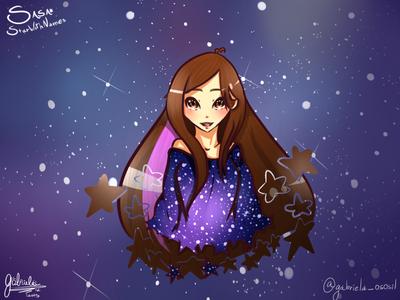 Star With Names by Gabby-neko