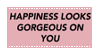 happiness stamp by Ettio