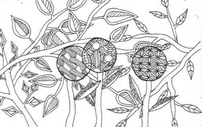 Nature doodle by titanik23