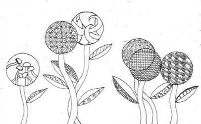 Zentangle ish doodle by titanik23