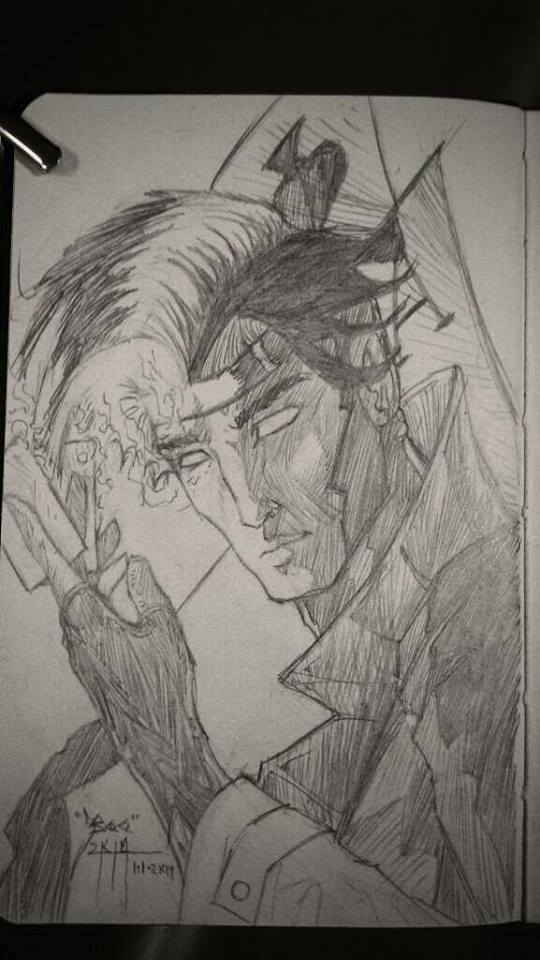 001. Kenn O'Neal 2014 Daily Sketches. by Bohma