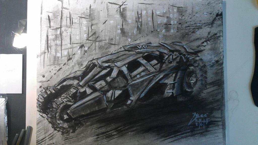 Tumbler. Batmobile by Kenn O'Neal.  by Bohma