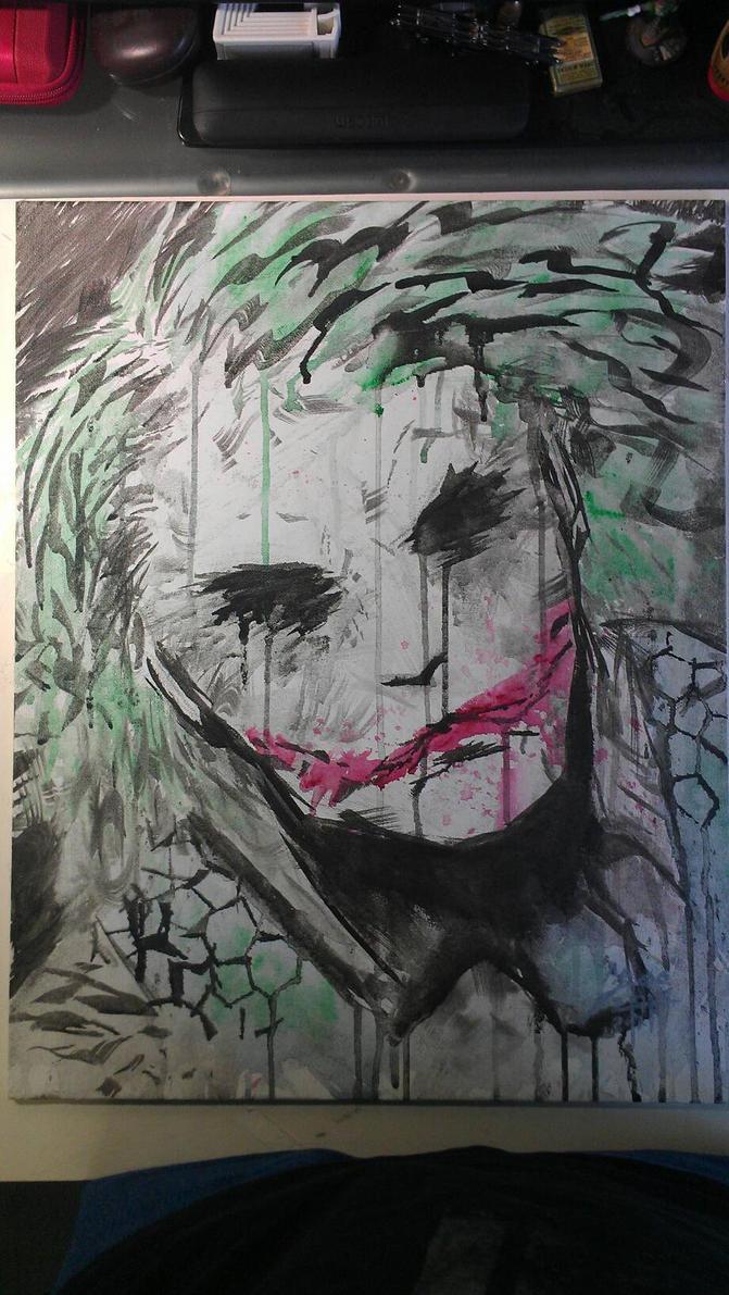 Joker from Batman by Kenn O'Neal. by Bohma