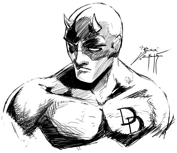 Daredevil - Kenn O'Neal by Bohma