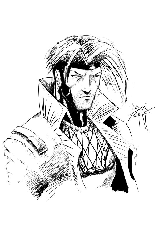 Gambit - Kenn O'Neal by Bohma