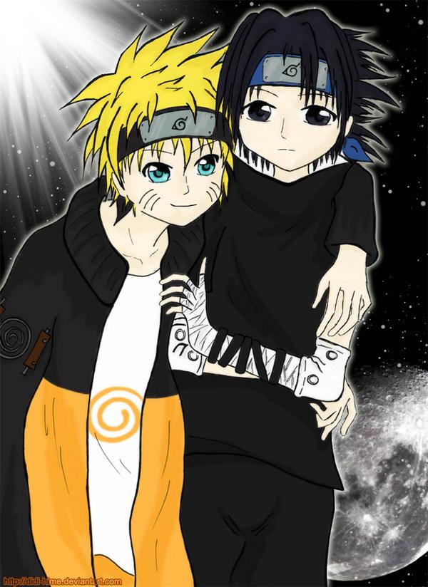 Naruto X Sasuke -Sun and Moon- by Didi-hime