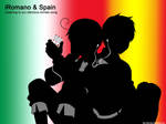 APH - Romano and Spain iPod by Didi-hime
