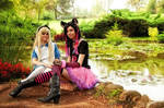 Cosplay - Alice and the cat