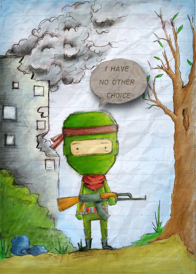 green army by ahhbiassa