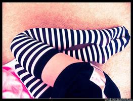legs stripes by sataikasia