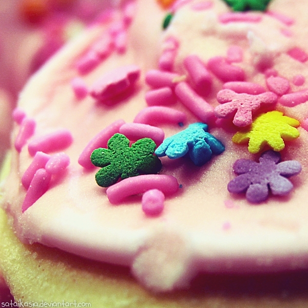 Cookie star sprinkles by sataikasia