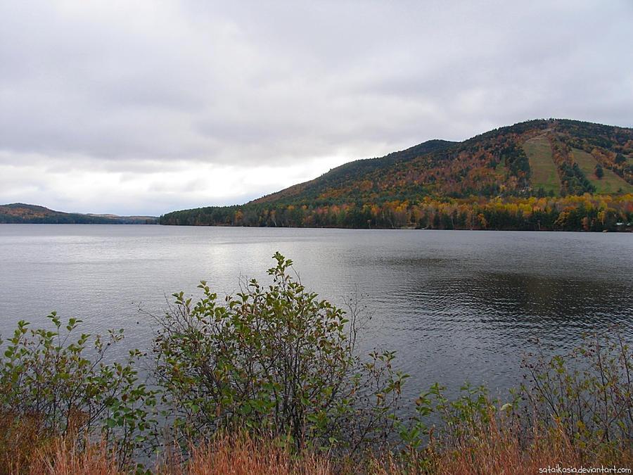 Moose Pond, Maine by sataikasia