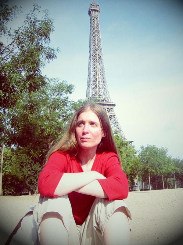 sitting in France by sataikasia