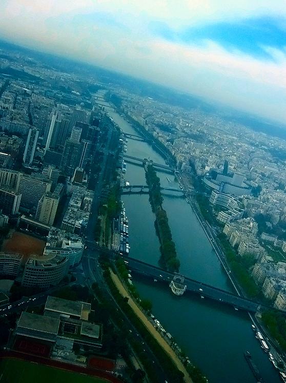 Eiffel Tower view IV by sataikasia