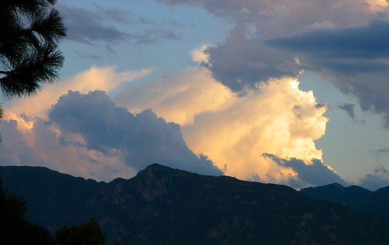 front door mountain sunset by sataikasia
