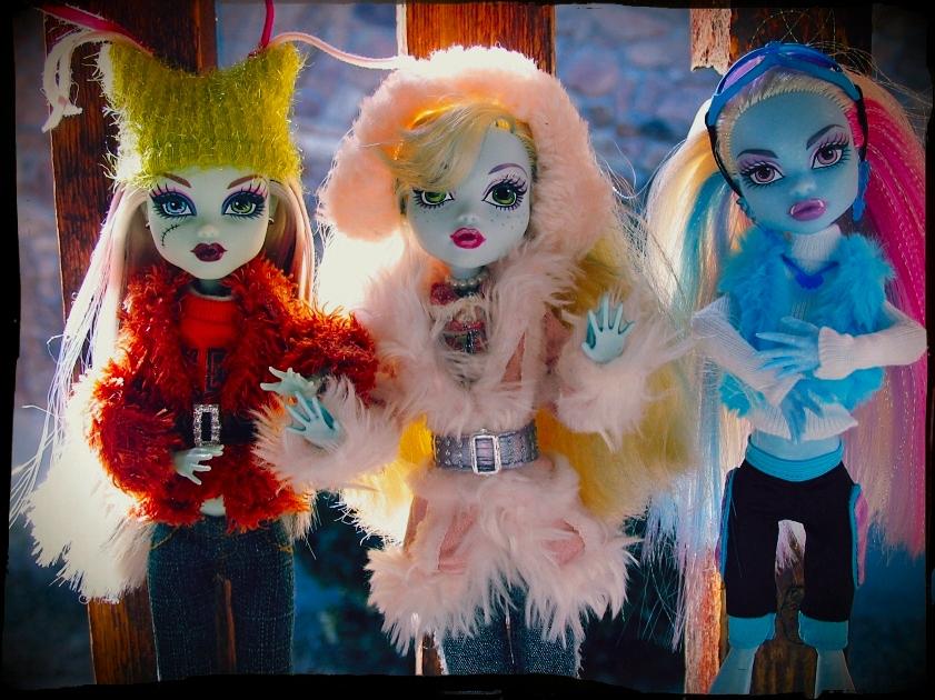 Monster winter girls by sataikasia