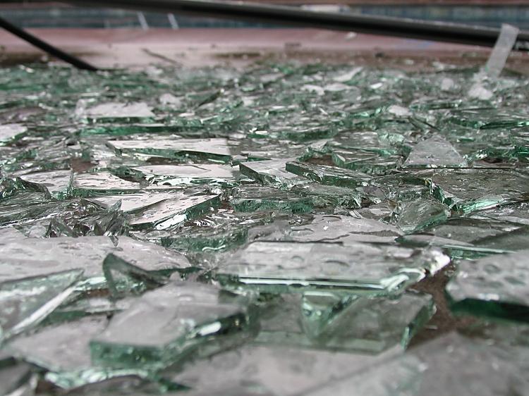 more broken glass by sataikasia