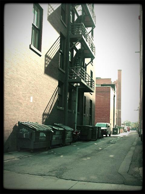 alley fire escape by sataikasia