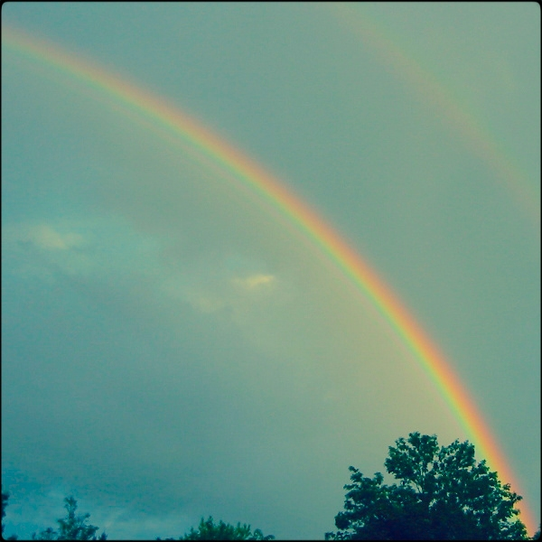 German double rainbow by sataikasia