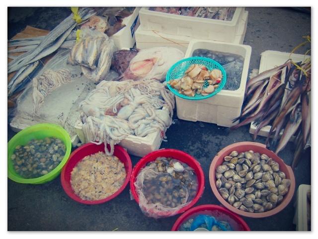Korean fish street market by sataikasia