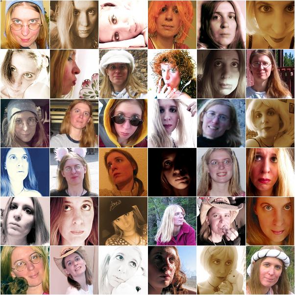 self portrait collage 1 by sataikasia
