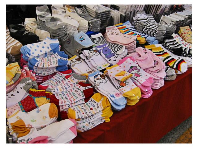 cute socks by sataikasia