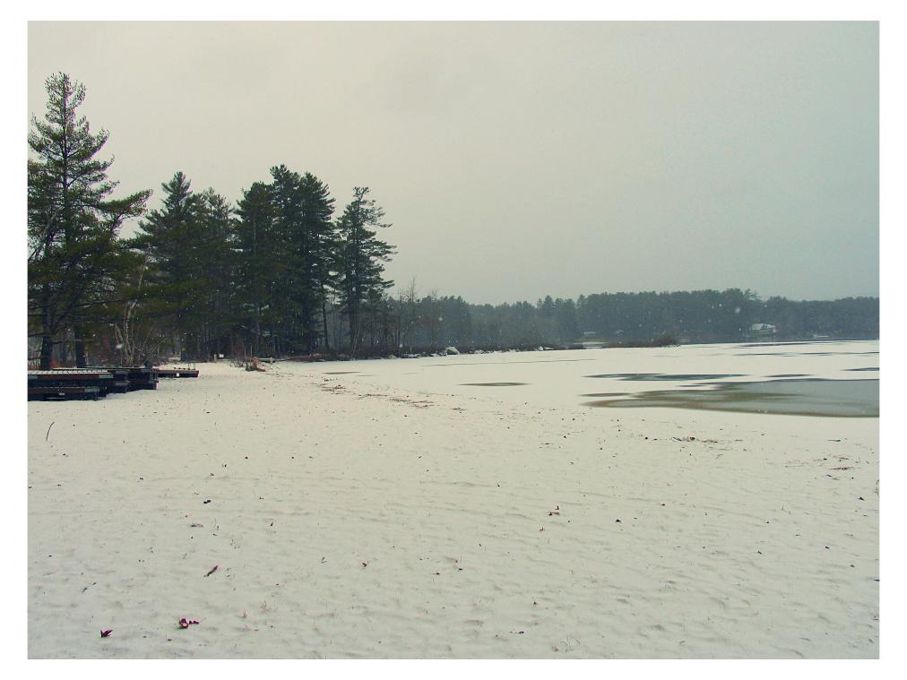 winter beach by sataikasia