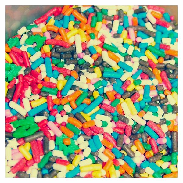 rainbow sprinkles by sataikasia