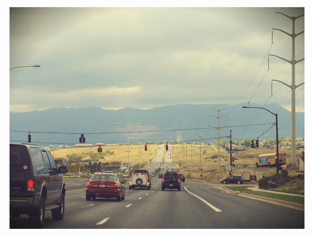 Colorado driving by sataikasia