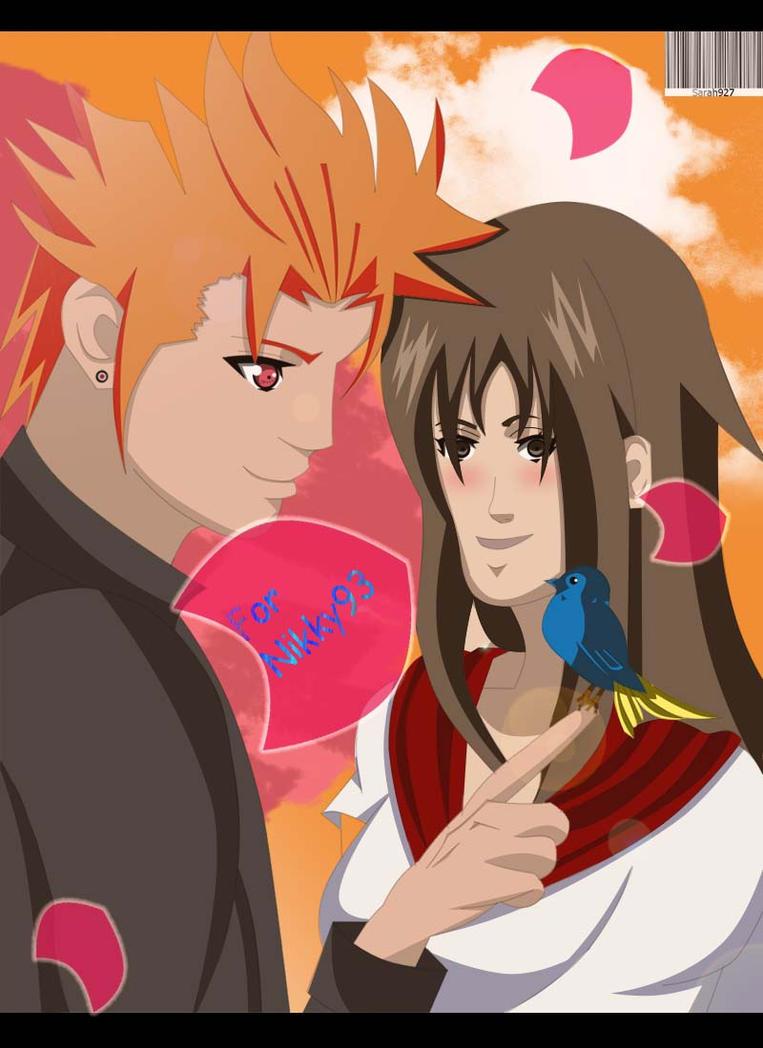 Comission : Juugo and Tamaki high school love by Sarah927