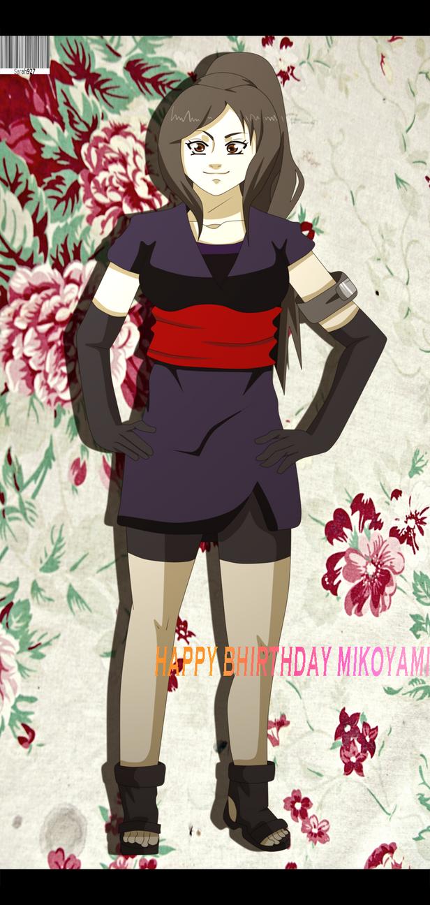 Happy Brithday MikoYami by Sarah927