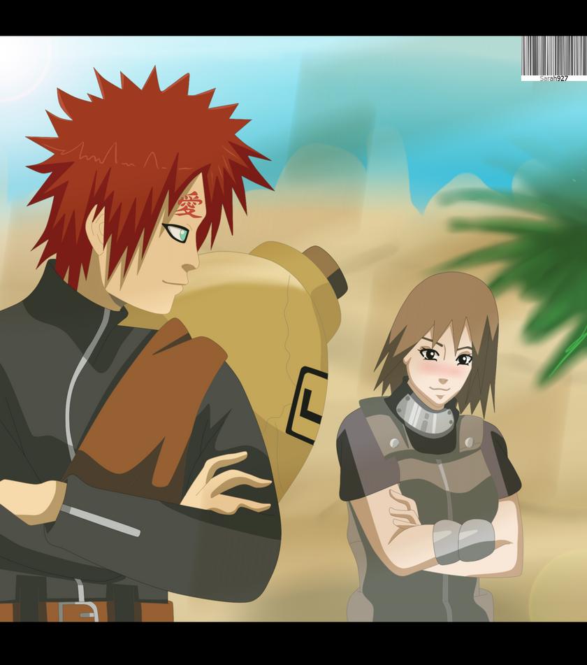 Gaara and Matsuri love in the desert by Sarah927 on DeviantArt