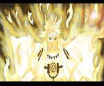 Naruto scan 631 Minato Bijuu