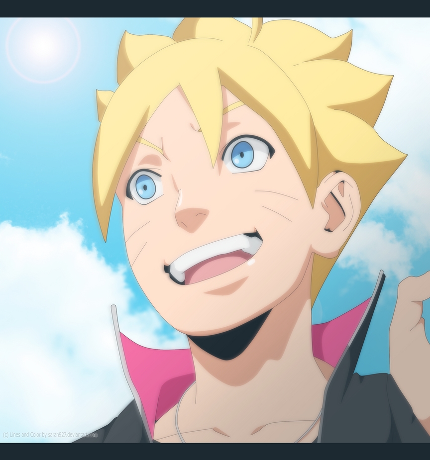 Boruto Next Generation Colored By Sarah927Artworks On